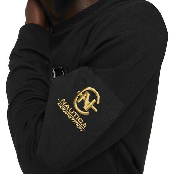 Nautica Competition Ionian Pocket Sweatshirt, Black, hi-res