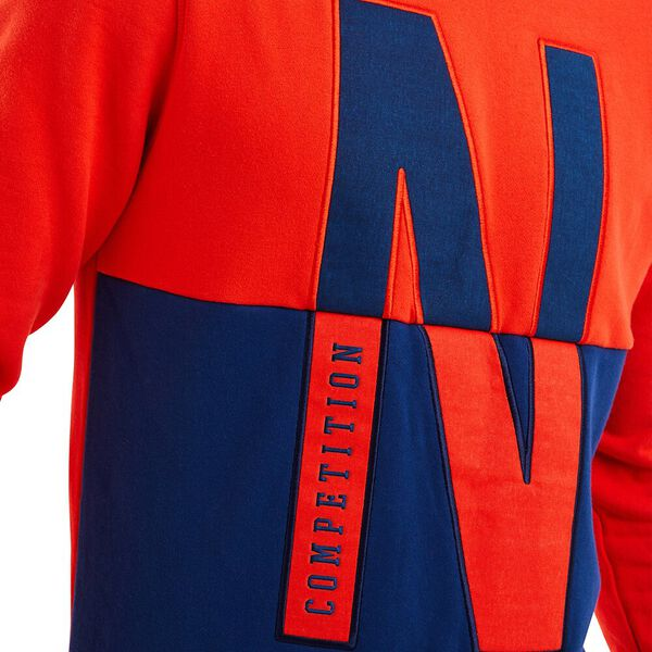 Nautica Competition Nock Sweater, Red, hi-res