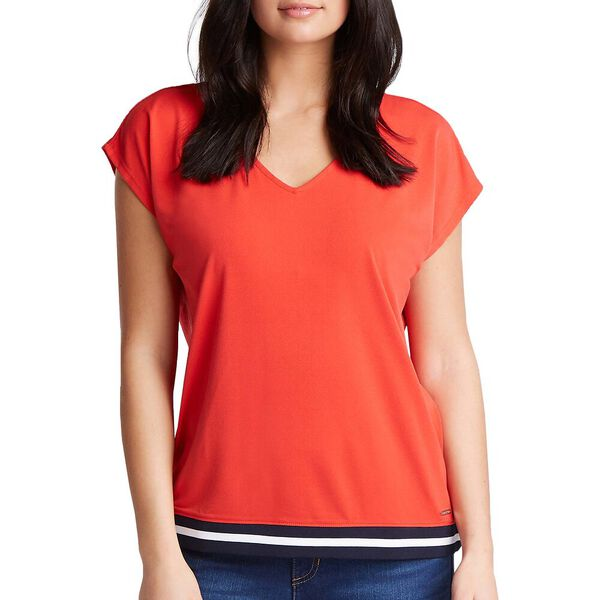 JERSEY CREPE BLOUSE