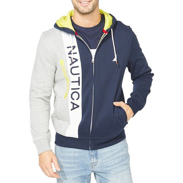 Nautica Since 1983 Zip Up Hoodie