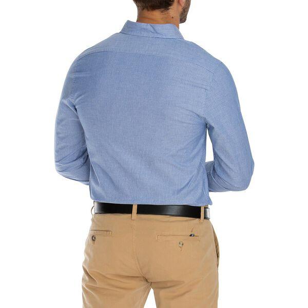 Navtech Micro Stripe Long Sleeve Shirt, Limoges, hi-res