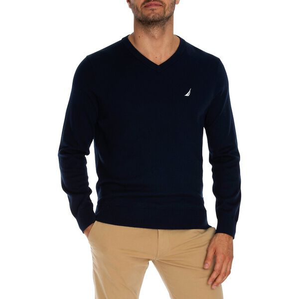 Big & Tall Navtech V Neck Sweater