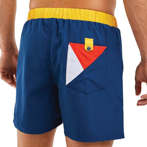 Nautica Competition Waveson Swim Shorts, Navy, hi-res