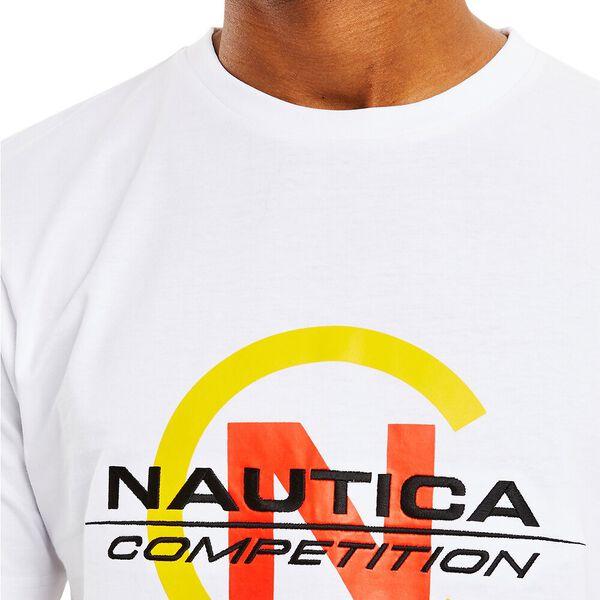 NAUTICA COMPETITION BEACON TEE, BRIGHT WHITE, hi-res