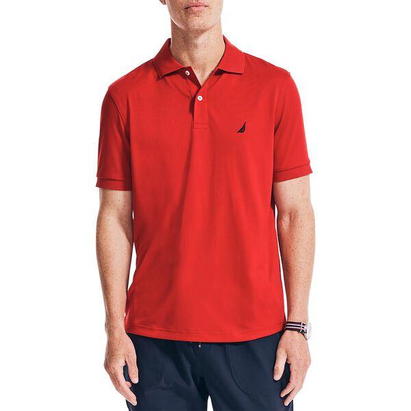 Performance Deck Polo Shirt, Nautica Red, hi-res