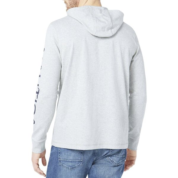 Lightweight Ocean Challenge Hoodie, Grey Heather, hi-res