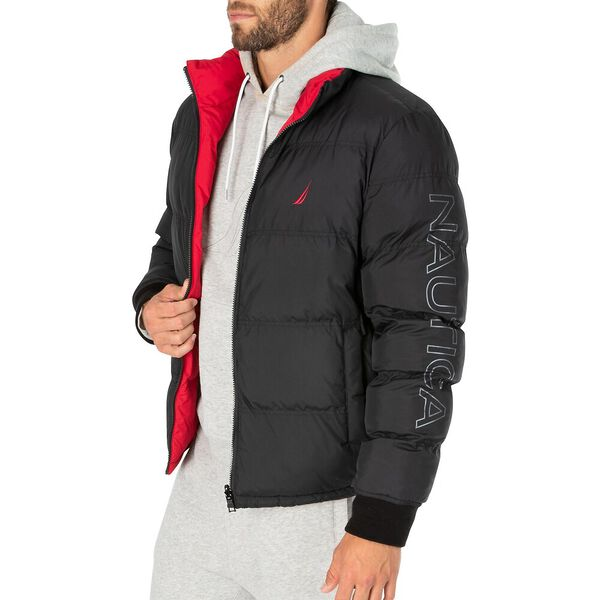 Reversible Down Bomber Puffer