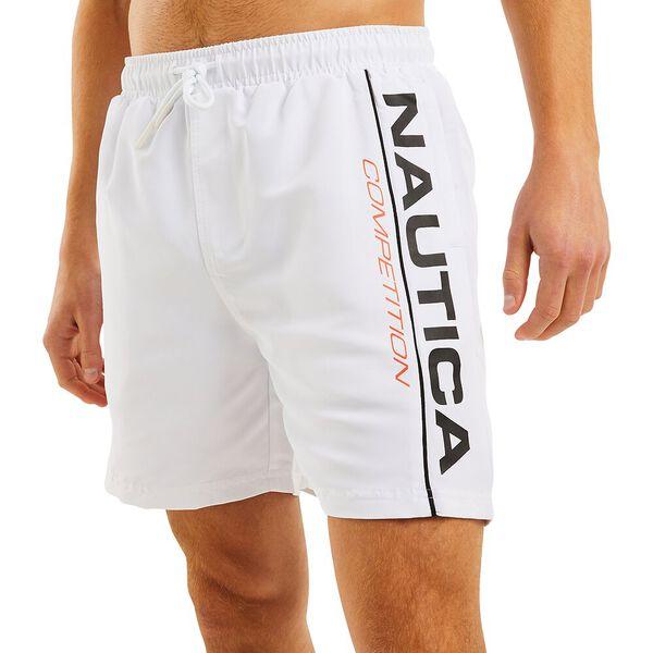 Nautica Competition Folsom Swim Shorts, Bright White, hi-res