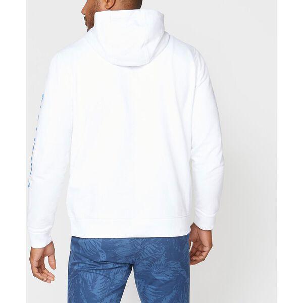 Blocked Logo Hoodie, Bright White, hi-res