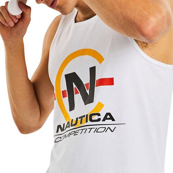 Nautica Competition Alec Singlet, Bright White, hi-res