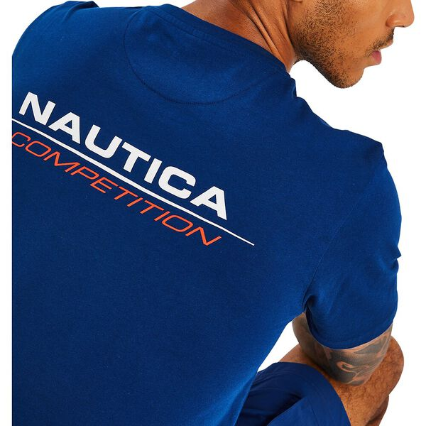 Nautica Competition Bernard Tee, Navy, hi-res