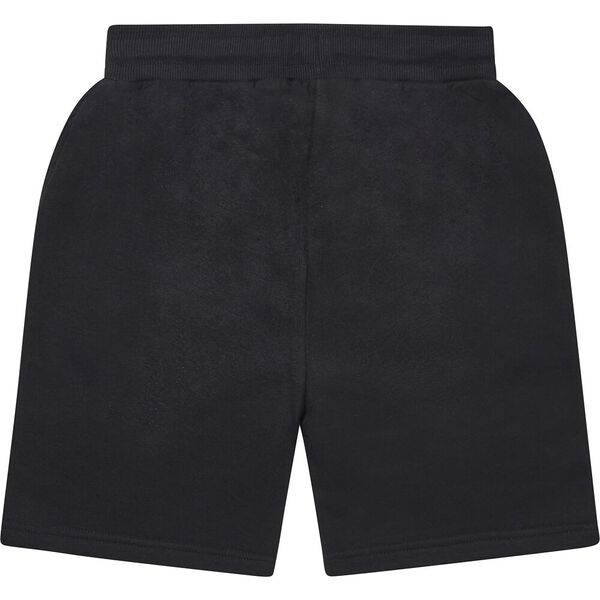 Boys 8 - 14 Nautes Fleece Track Short, Black, hi-res