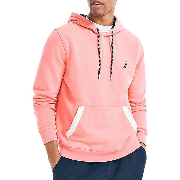 Classic Fit Tipped Branded Hoodie