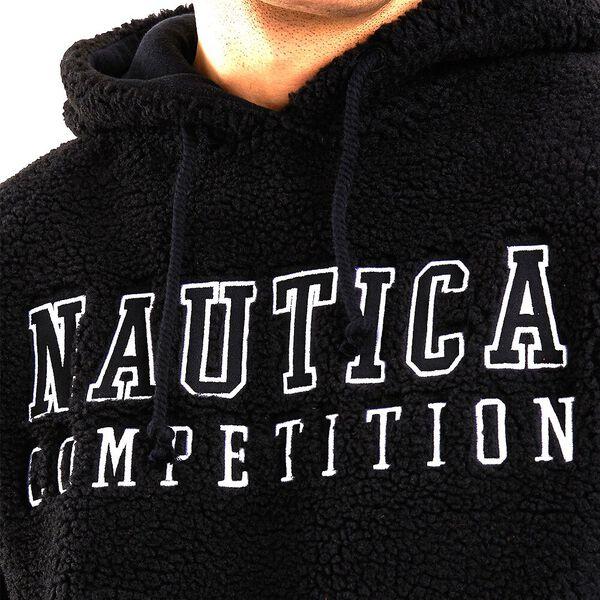 Nautica Competition Comber Fleeced Hoodie, Black, hi-res
