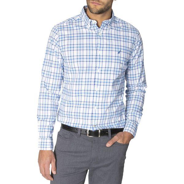 Navtech Blue Shadow Long Sleeve Checked Shirt