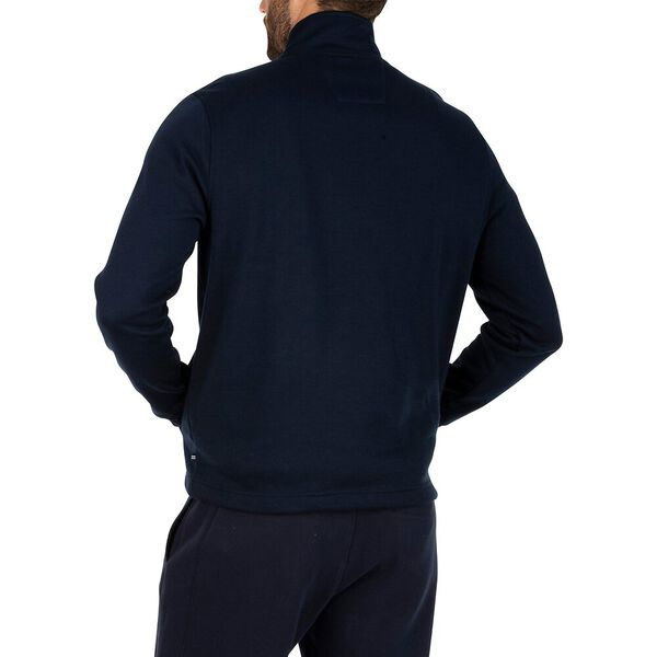 Navtech 1/4 Zip Brush It Off Fleece, Navy, hi-res