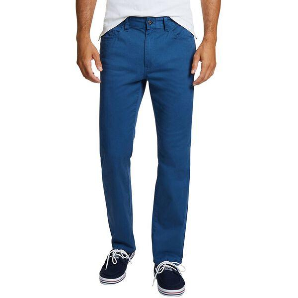 5 POCKET STRAIGHT FIT PANTS, ENSIGN BLUE, hi-res
