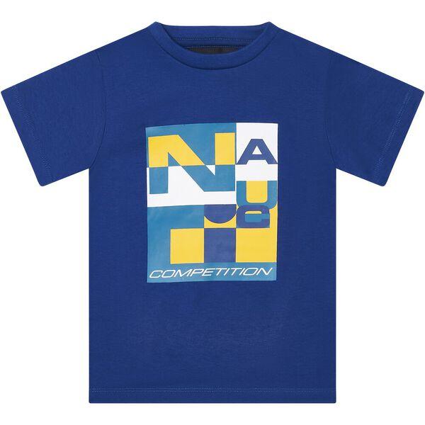 Boys 3 -7 Nautica Competition Pelagos T-Shirt, Blue, hi-res