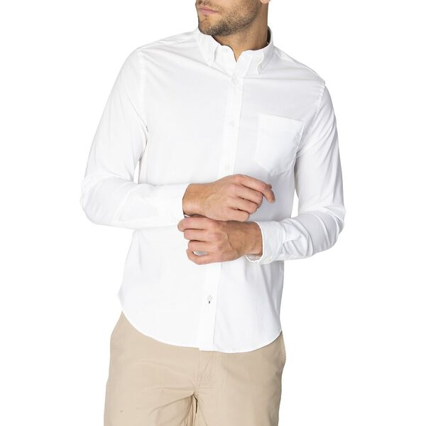 Slim Fit Solid Colour Wrinkle Resistant Shirt