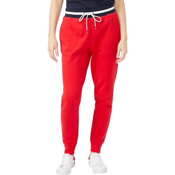 Banded Stripe Track Pants