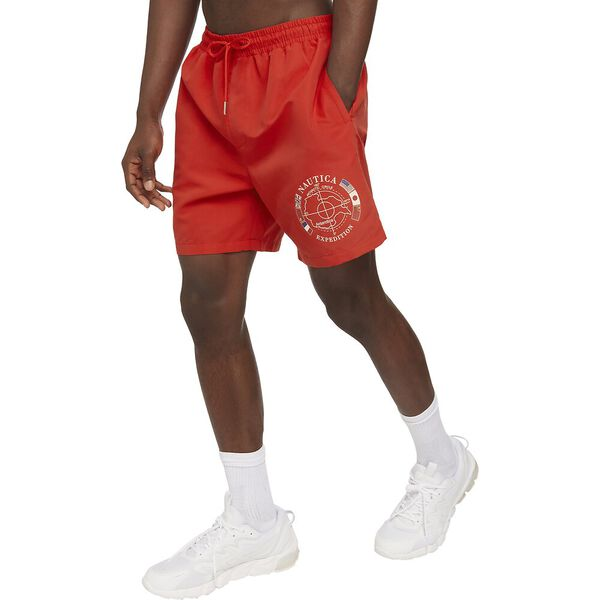 Vintage Collection Naia Swim Short, Red, hi-res