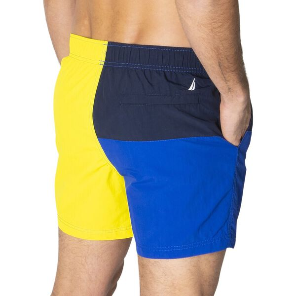 """16"""" Heritage NS-83 Quick-Dry Swims Shorts, Blazing Yellow, hi-res"""