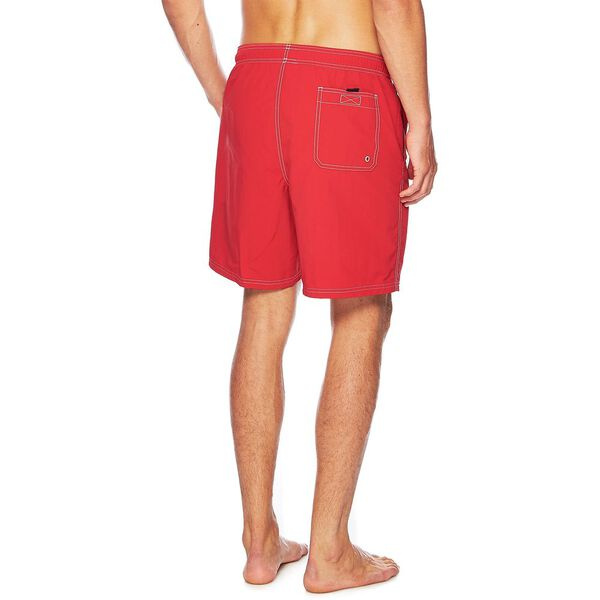 Anchor Swim Shorts, Racer Red, hi-res