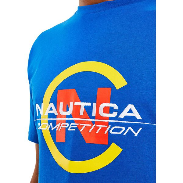 Nautica Competition Beacon Tee, Spinner Blue, hi-res