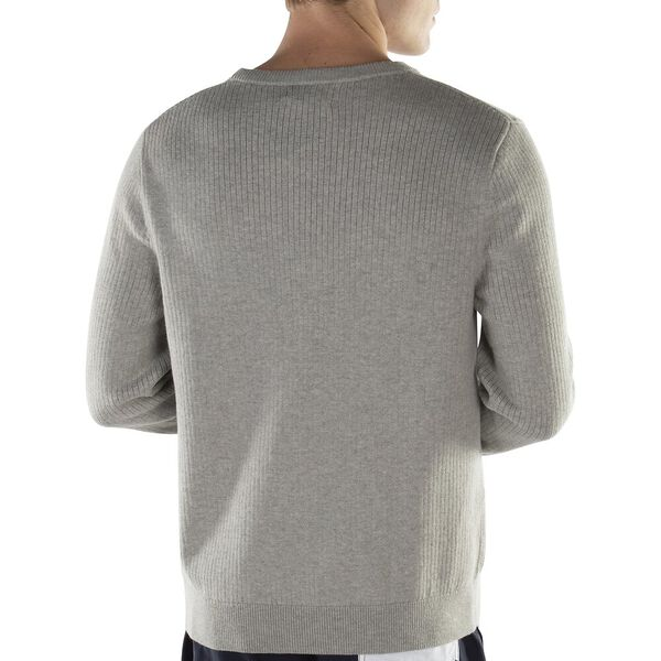 Crew Neck Navtech Sweater, Grey Heather, hi-res