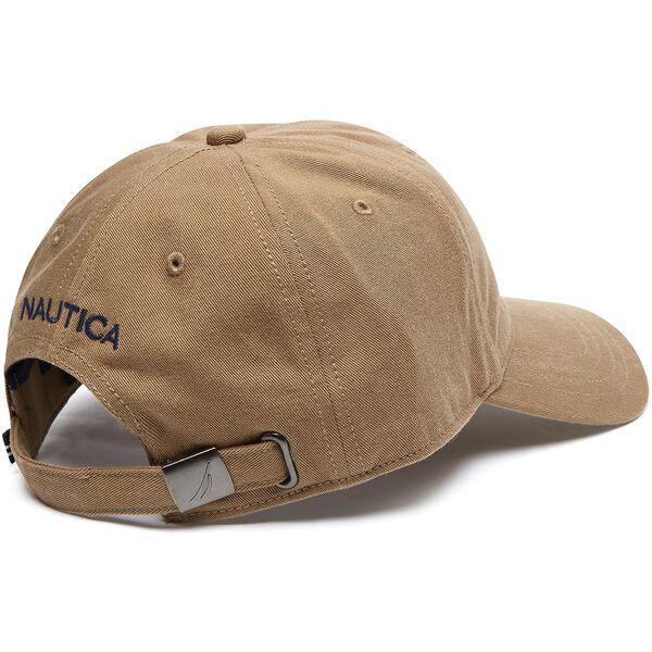 FCA J CLASS 6 PANEL BASEBALL CAP, OYSTER BROWN, hi-res