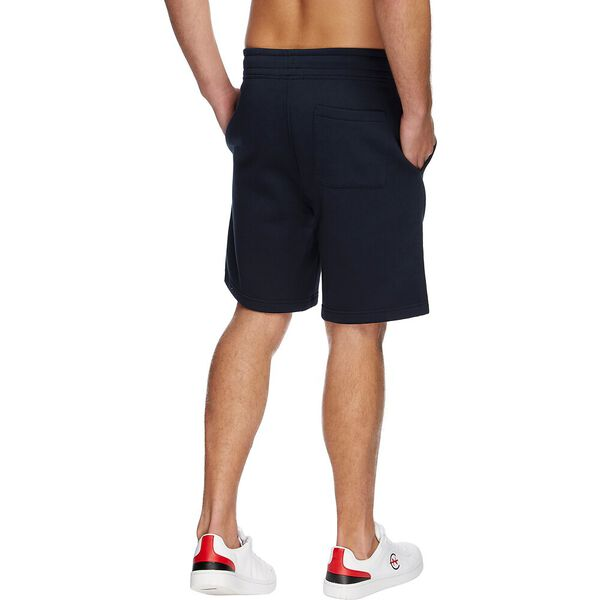 J. Class Logo Knit Short, Navy, hi-res