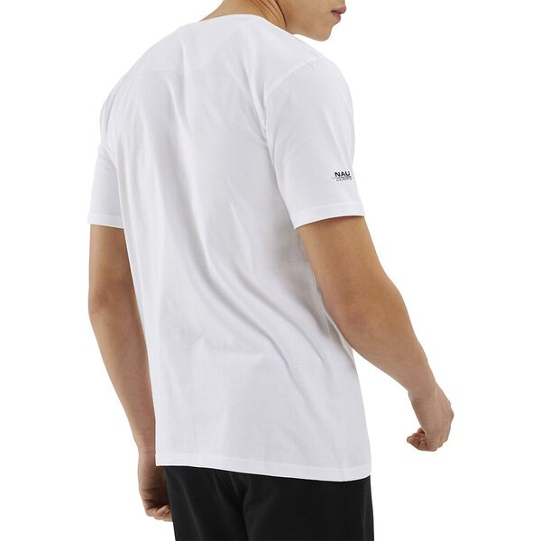 Nautica Competition Patroon Tee, White, hi-res