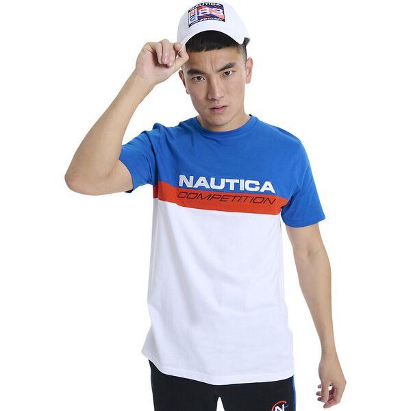 Nautica Competition Equator Tee, Blue, hi-res
