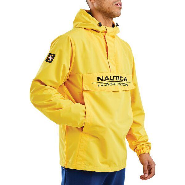 Nautica Competition Cowl 1/4 Zip Windbreaker, Yellow, hi-res