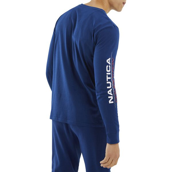 Nautica Competition Laveer Tee, Navy, hi-res