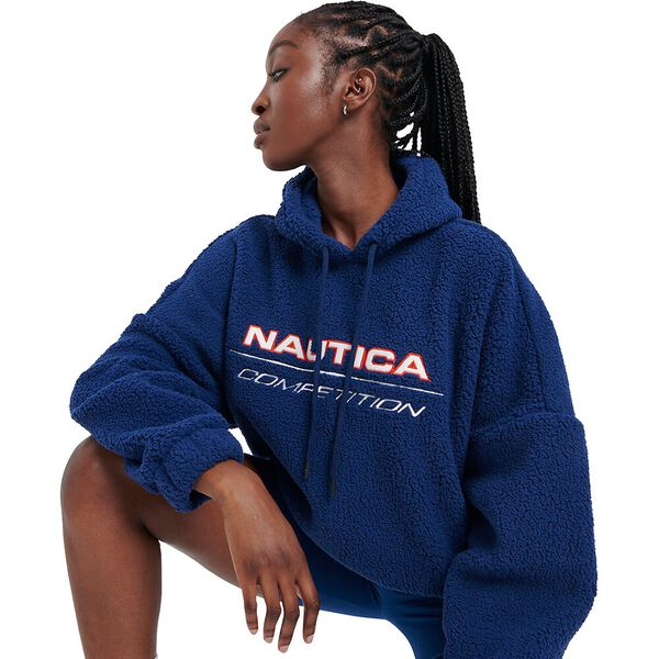 Nautica Competition Naulon Oversized Hoody, Blue, hi-res