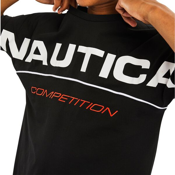 Nautica Competition Barber Tee, True Black, hi-res