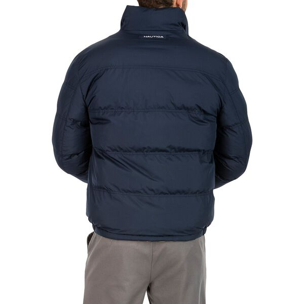 Reversible Down Bomber Puffer, Old Gold, hi-res