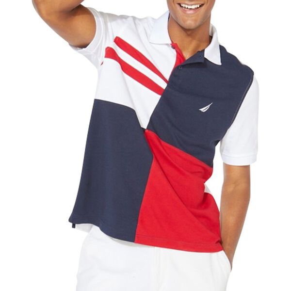 Performance Quadrant Polo Shirt, Bright White, hi-res