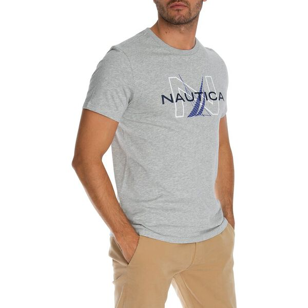 Duelling Classic Tee, Grey Heather, hi-res