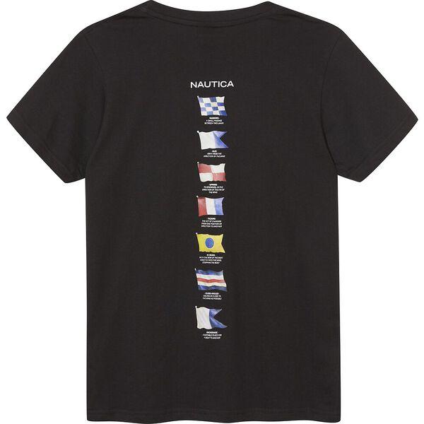 Boys 8 - 14 Rower T-Shirt, Black, hi-res