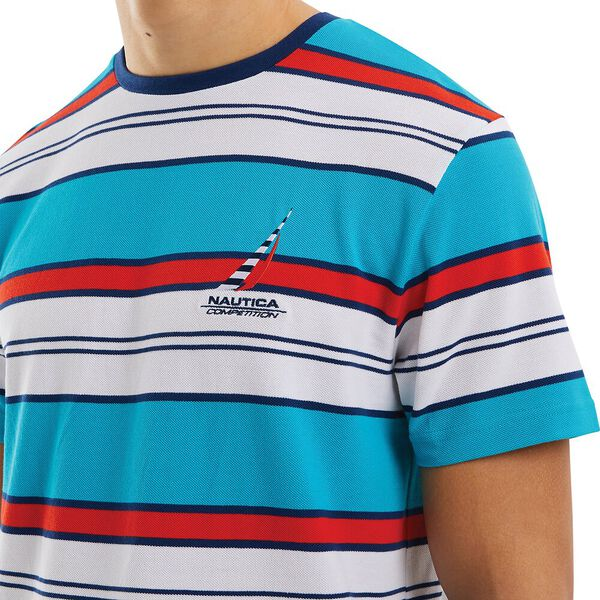 Nautica Competition Ahull Tee, Blue, hi-res