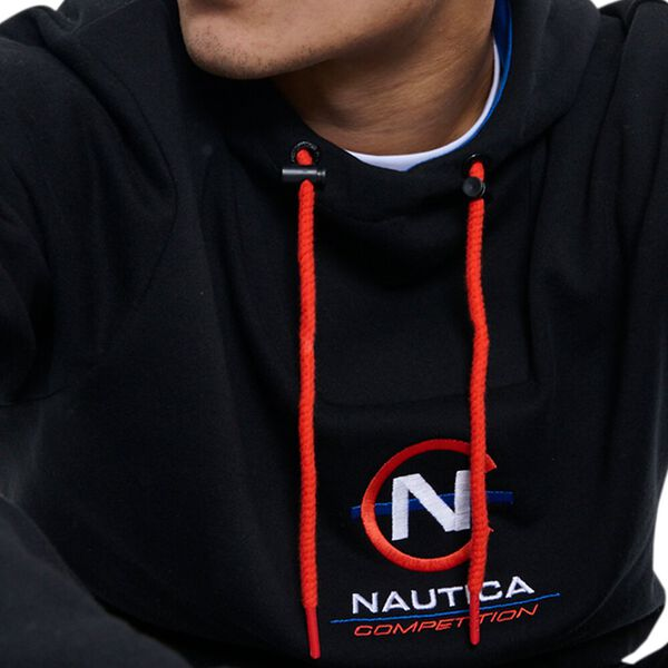Nautica Competition Zissou Hoodie, Black, hi-res