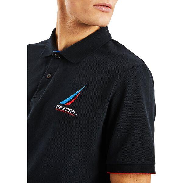 Nautica Competition Coble Polo, True Black, hi-res