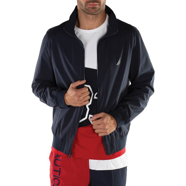 RAINBREAKER ANCHOR BOMBER JACKET