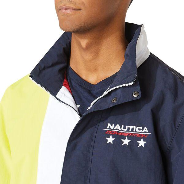 Nautica Competition Starboard Windbreaker, Navy, hi-res