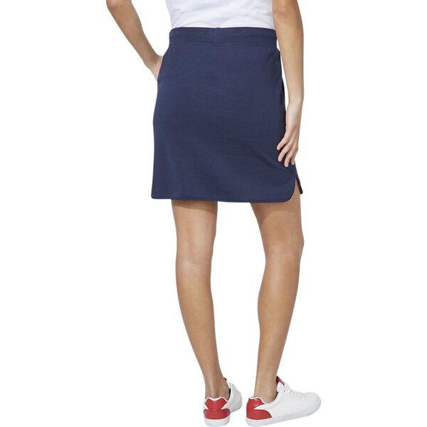 Soft Sail Knit Skirt, Navy Seas, hi-res
