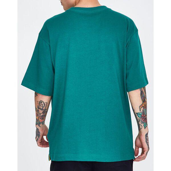 LOGO T-SHIRT ANTIQUE GREEN, ANTIQUE GREEN, hi-res