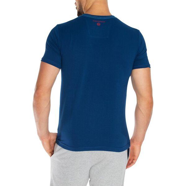 Nautica Competition Stripe Graphic Tee, Estate Blue, hi-res