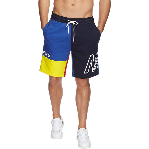 BLUE SAIL HYDRO RACE PRIMARY BLOCK TRACK SHORTS